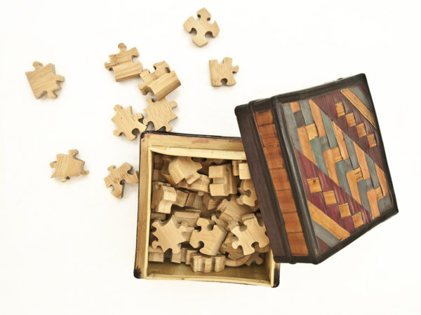 Bambu cutting board puzzle - Rocchi