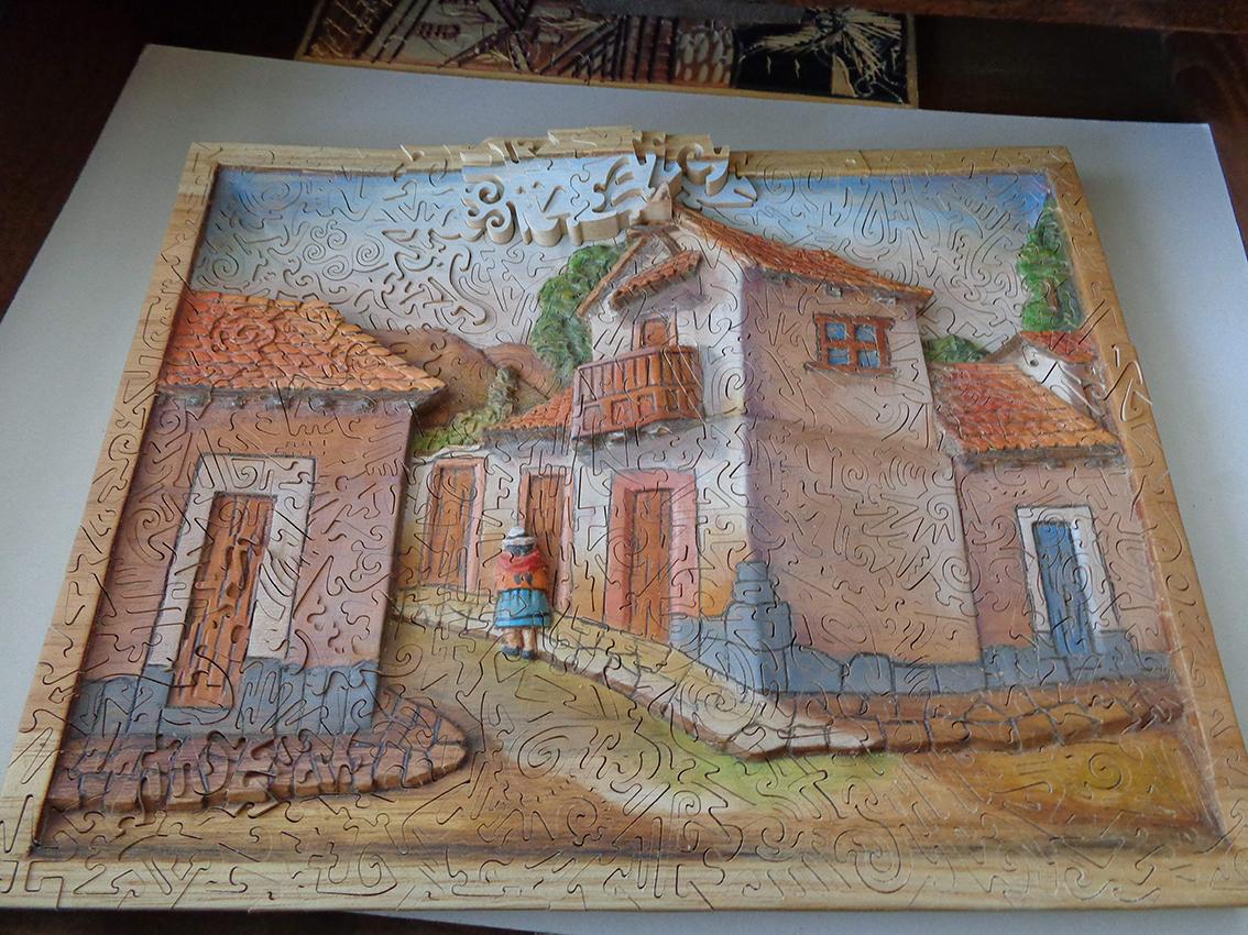 Bolivia Bas-Relief Puzzle - Rocchi