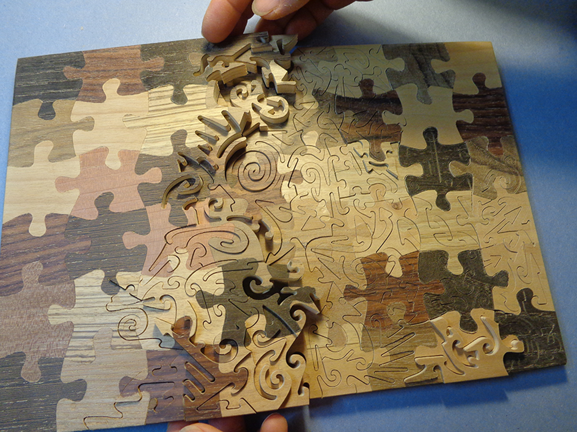 Puzzle to the power of two - Rocchi