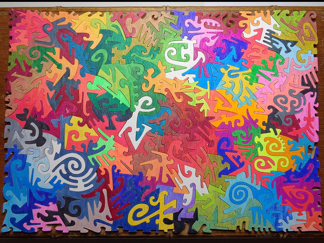 Arlecchino Puzzle - Rocchi
